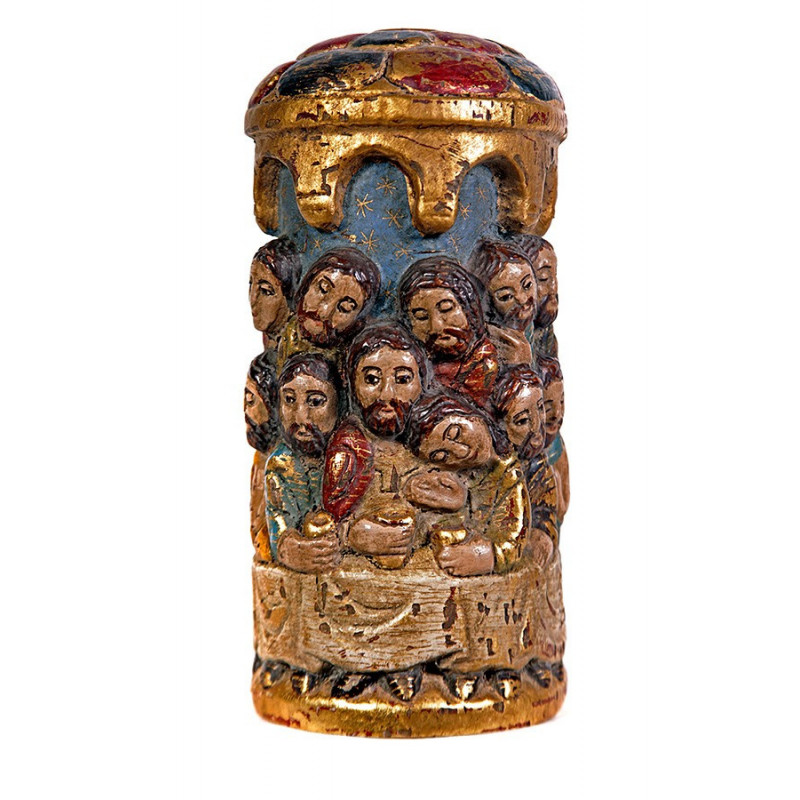 Romanesque Lord's Supper round